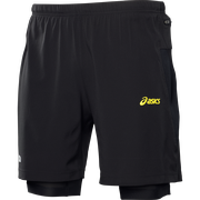 Asics M's Fuji 2in1 short 110559 0497