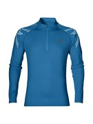 ASICS STRIPE 1/2 ZIP 141203 8154