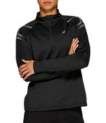 Футболка для бега Asics Icon Winter Ls 1/2 Zip Top (Women) 2012A012 007