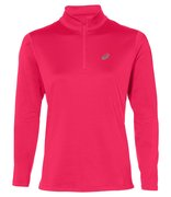Футболка для бега Asics Silver Ls 1/2 Zip Winter Top (Women) 2012A034 700