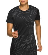 Футболка для бега Asics Night Track Ss Top (Women) 2012A825 001