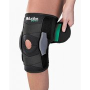 Mueller SELF ADJ HINGED KNEE BRACE GREEN ML 86455ML