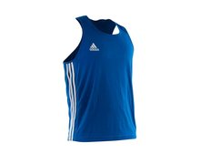 Майка боксерская Adidas Boxing Top Punch Line adiBTT02-blue