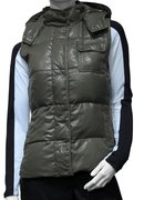 CHAMPION Detachable Hood Duck Down Vest (W) 105447-IRL