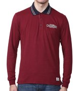 CHAMPION LONG SLEEVE POLO T'SHIRT 207882-ZIB/NNY