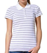 CHAMPION Polo (W) 104971-WHT/PRV/MS