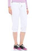 Champion 3/4 Rib Cuff Pants (W) 105823-WHT