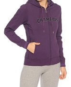 Champion Hooded Full Zip Sweatshirt (W) 104784-MLZ