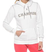 Champion Hooded Full Zip Sweatshirt (W) 108190-WHT