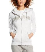 Champion Hooded Full Zip Sweatshirt (W) 108615-SIL