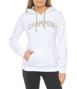 Champion Hooded Sweatshirt (W) 108614-WHT