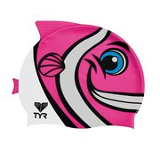 Tyr KID'S HAPPY FISH SWIM CAP LCSHFISH693