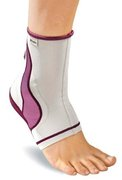 MUELLER LIFECARE ANKLE SUPPORT PLUM MD 40993