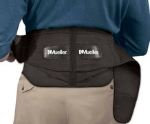 MUELLER LUMBAR BACK BRACE WITH REMOVABLE PAD 255