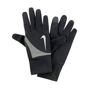 NIKE MEN'S SHIELD RUN GLOVES L BLACK N.RG.93.001