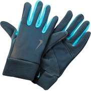 NIKE MEN'S TECH THERMAL RUNNING GLOVES L ARMORY SLATE/BLUE HERO N.RG.57.099