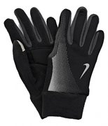 NIKE MEN'S TECH THERMAL RUNNING GLOVES L BLACK/ANTHRACITE N.RG.57.079