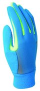 NIKE MEN'S TECH THERMAL RUNNING GLOVES M BLUE HERO/VOLT N.RG.57.471