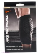 Суппорт NIKE PRO COMBAT CALF SLEEVE L BLACK/BLACK N.MS.30.001-SALE