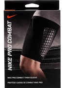 NIKE PRO COMBAT THIGH SLEEVE L BLACK/BLACK N.MS.34.001