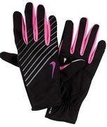NIKE WMN'S LW TECH RUNNING GLOVES L BLACK/CLUB PINK N.RG.28.060