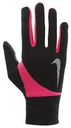 NIKE WOMEN'S DRI-FIT TAILWIND RUN GLOVES L BLACK/HYPER PINK N.RG.A3.091