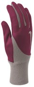 NIKE WOMEN'S ELEMENT THERMAL RUN GLOVES L FUCHSIA FORCE/COOL GREY N.RG.98.681