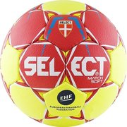 Мяч SELECT MATCH SOFT IHF 844908-335