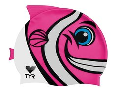 Шапочка TYR Kid's Charactyrs Happy Fish Swimming Cap LCSHFISH 693