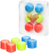TYR Youth Multi-Colored Silicone Ear Plugs LEPY 970