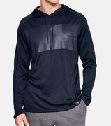 Мужская беговая рубашка Under Armour Lighter Longer Hoodie 1320833-001
