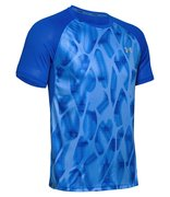 Мужская футболка для бега Under Armour Qualifier Iso Chill Printed Run Short Sleeve 1350133-464