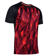 Мужская футболка для бега Under Armour Qualifier Iso Chill Printed Run Short Sleeve 1350133-628