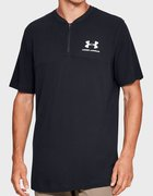 Мужское поло Under Armour Sportstyle Track 1-2 Zip 1329287-001